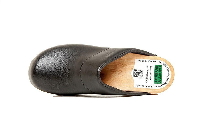 Sven Chef Clogs by Bragard Black Top