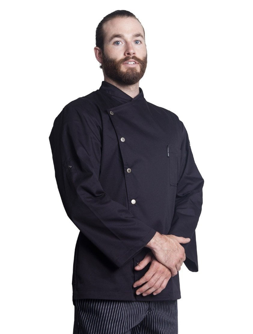 Bragard Arizona Chef Jacket Black Side