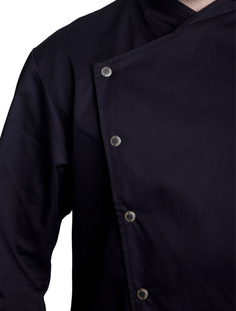 Bragard Arizona Chef Jacket Black Buttons