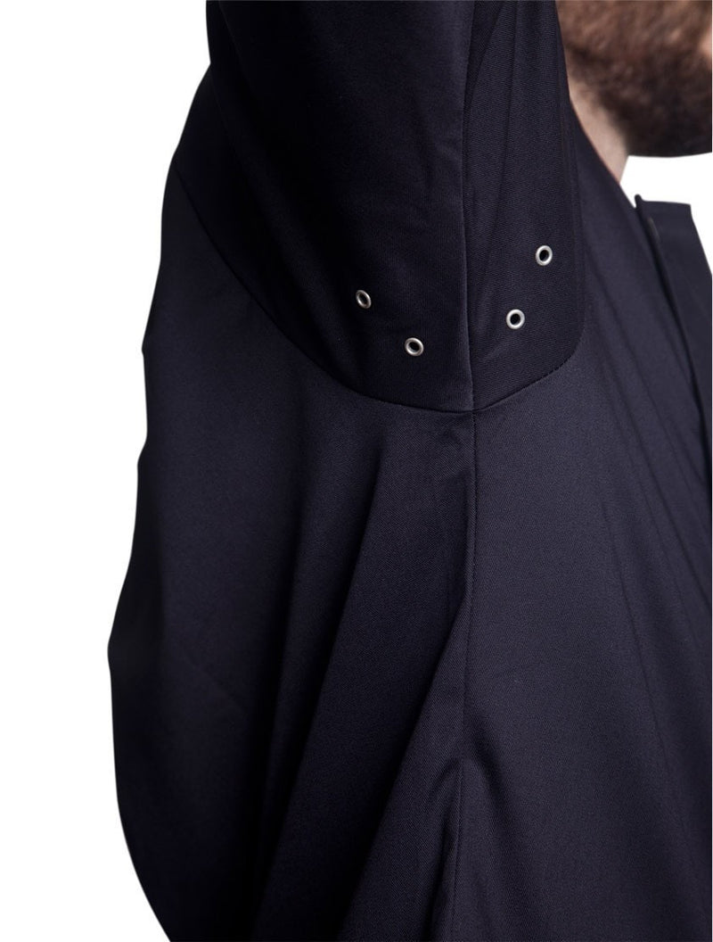 Bragard Arizona Chef Jacket Black Underarm Vents