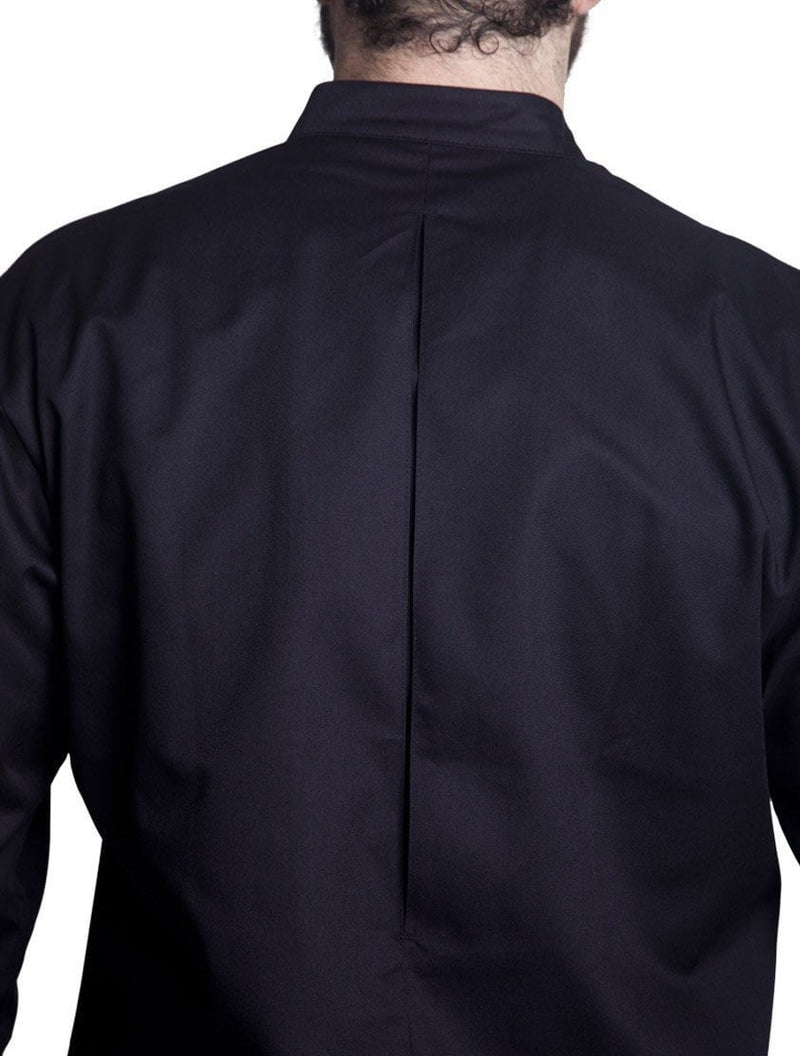 Bragard Arizona Chef Jacket Black Back Comfort Pleat