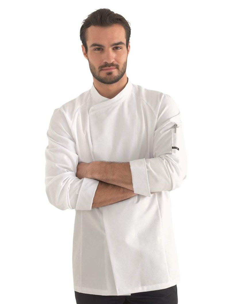 Kentaur 23501 Unisex Chef/Waiter Jacket  Front View White