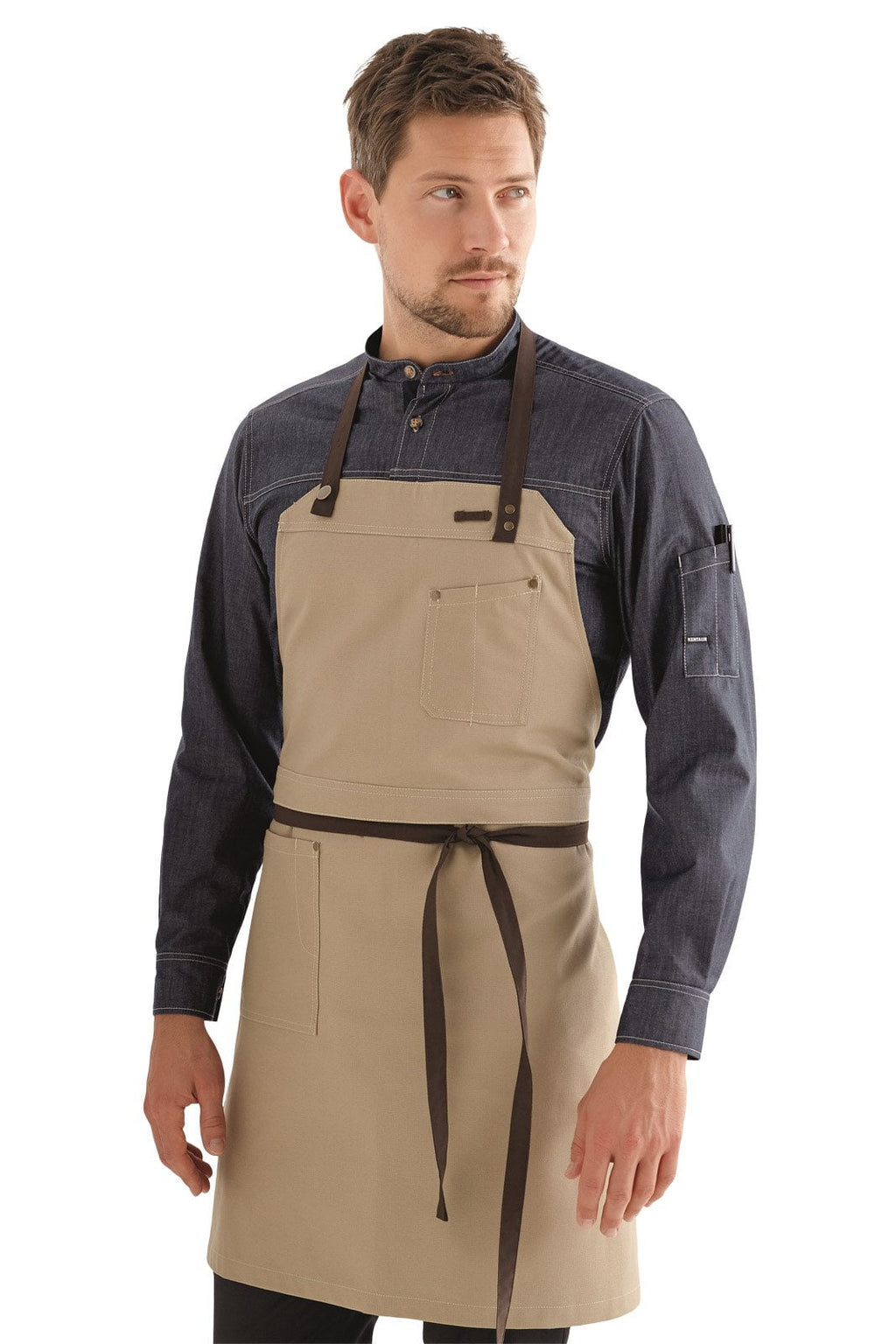 Kentaur 30360 Raw Bib Apron