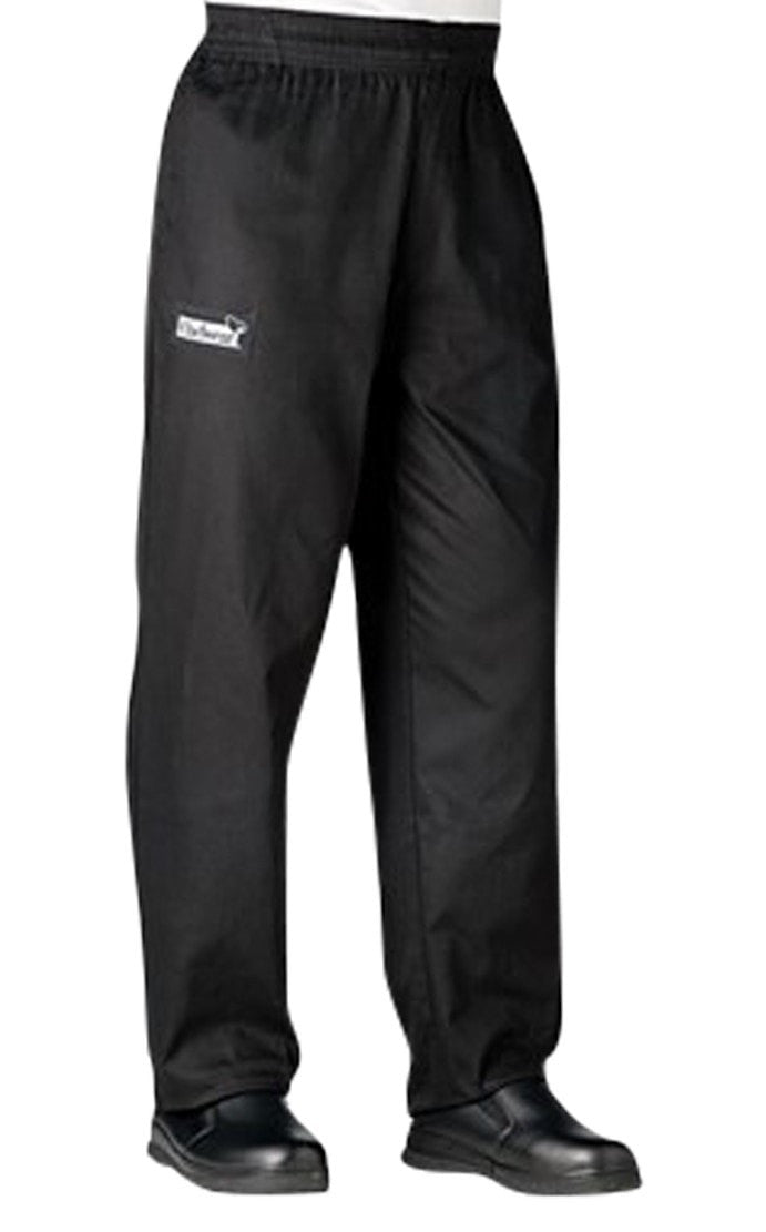Pantalon Chef Chefwear Traditionnel (3100) Herringbone Noir