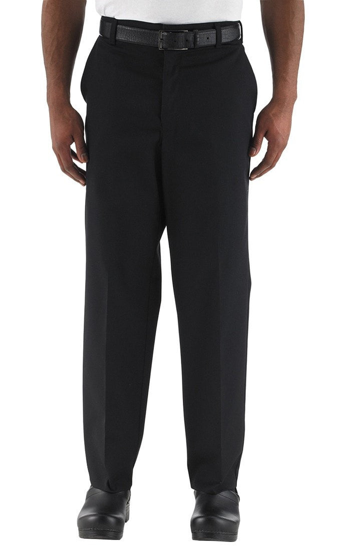 Four Star Server Pants by Chefwear 3600 Black Front