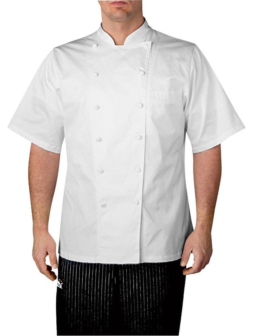 Chefwear Executive SS Chef Coat 4050 White Front
