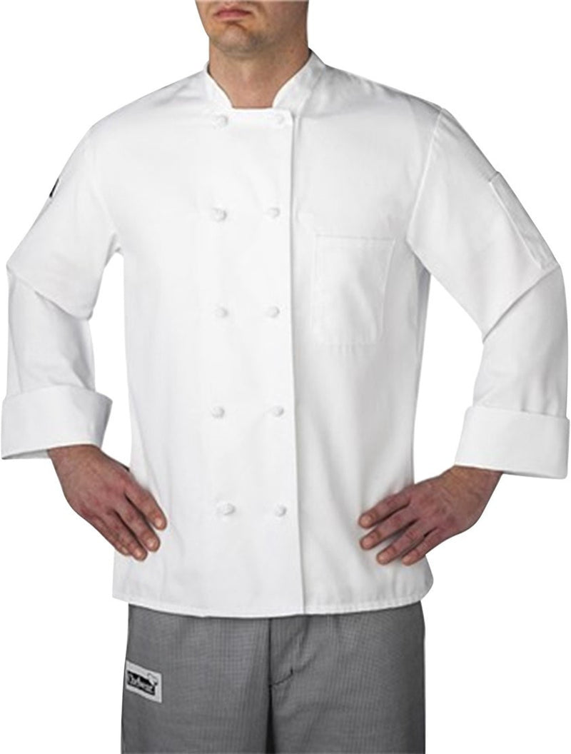 Chefwear Three Star Cloth Knot Button Chef Jacket (4400)