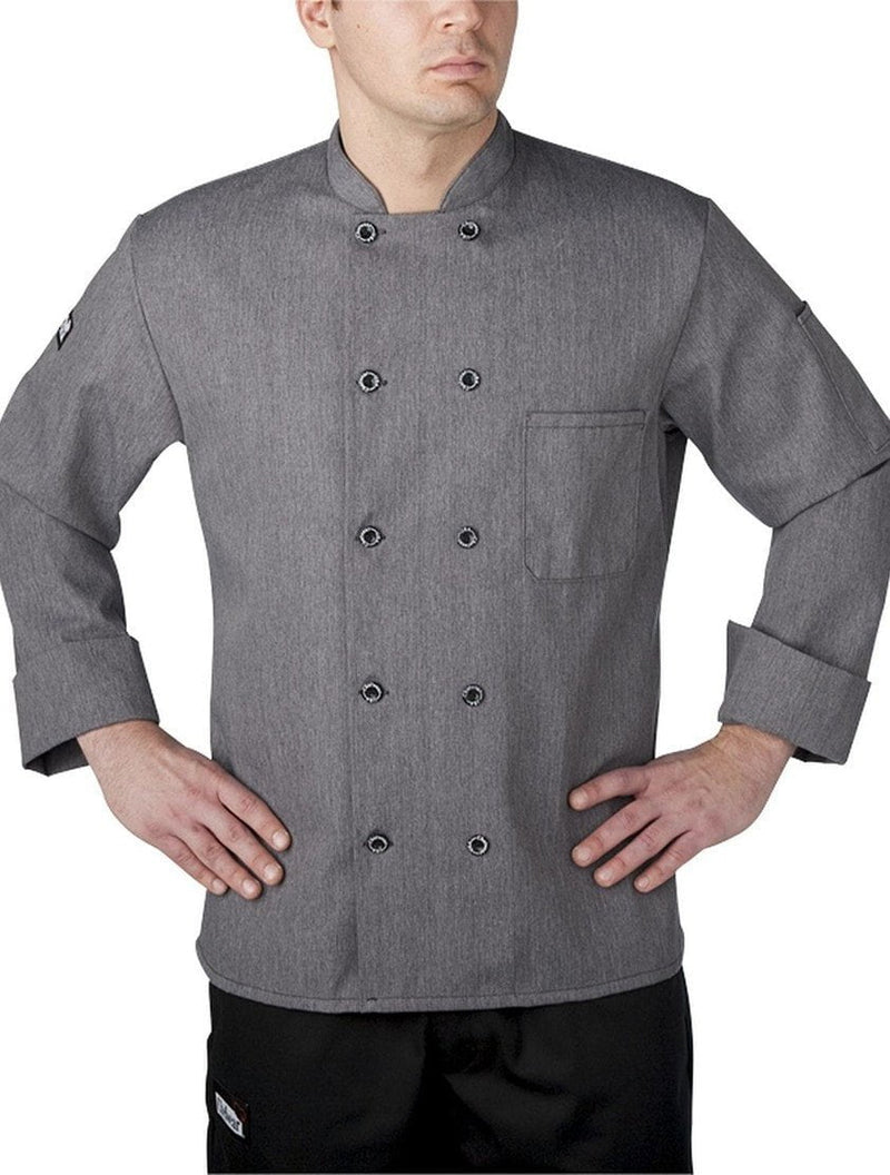 Chefwear Three Star Chef Coat 4410 Grey