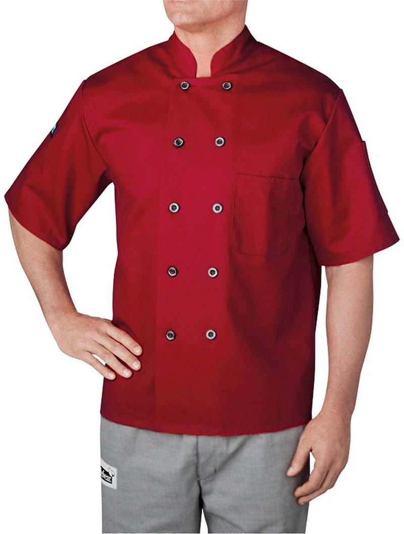 Chefwear Three Star Chef Jacket 4455 Red