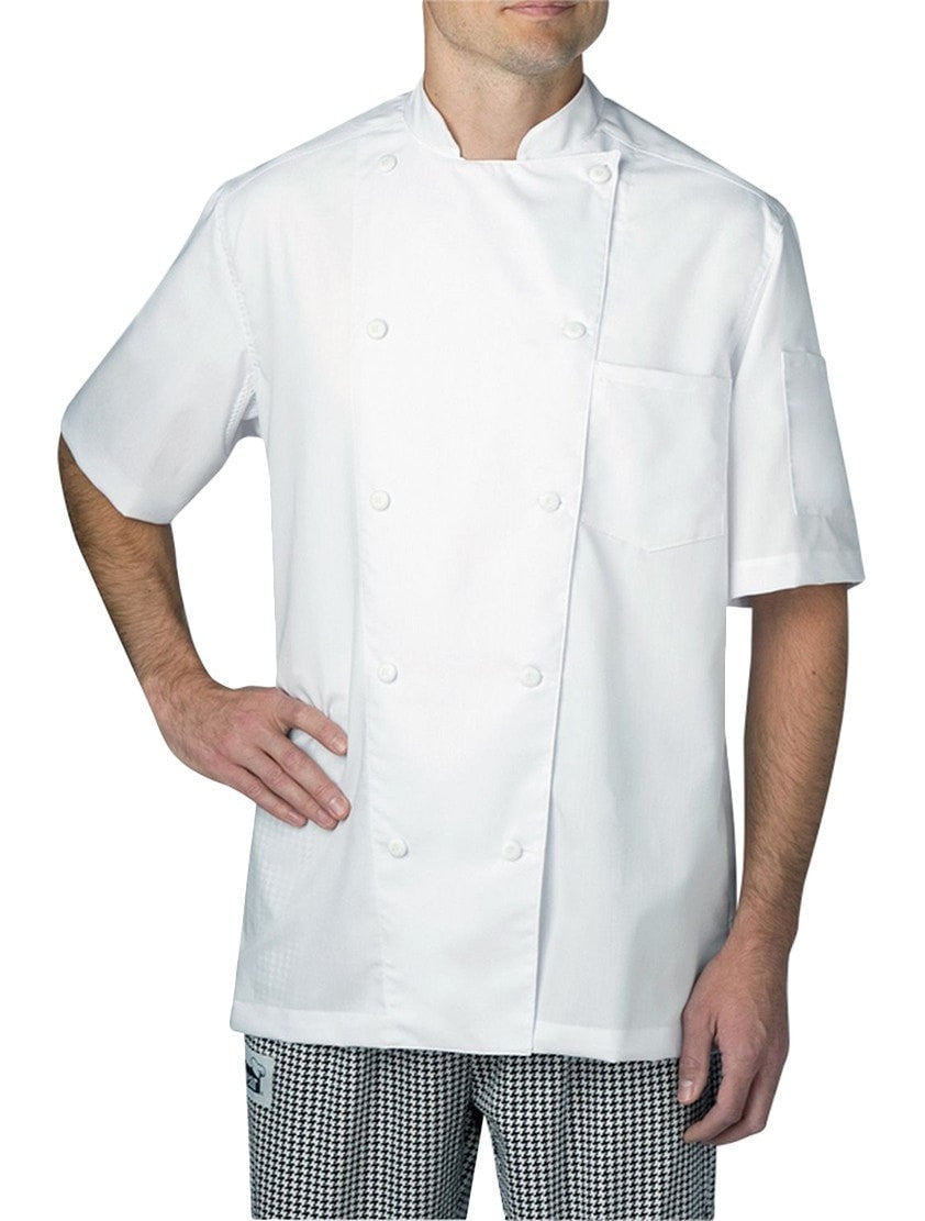 Chefwear Four Star Vented Lightweight Chef Jacket (5612) White