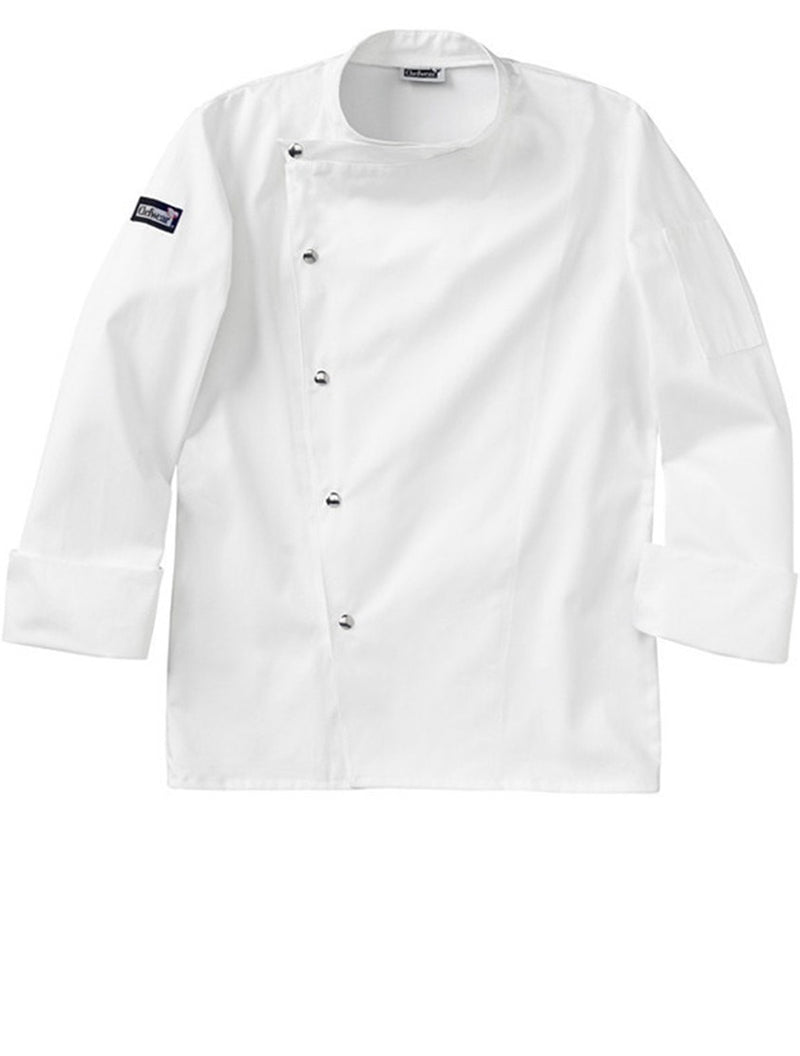 Manteau de chef Four Star 5620 Snap de Chefwear White Profile