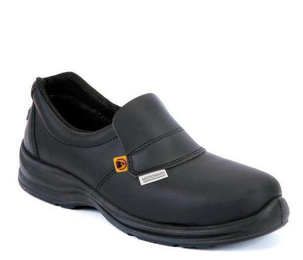 Giasco Medina S2 Non-Slip Leather Chef Shoe - Main