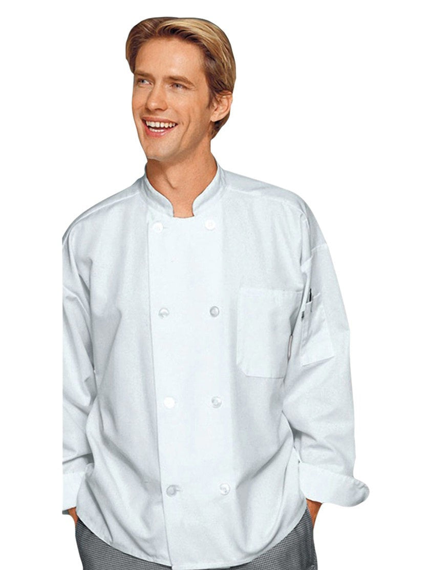 Tom Chef Jacket par Bragard White Front Profile