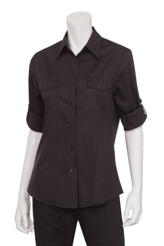 Chef Works Women's Two-pocket Shirt