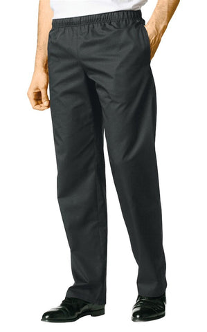 Bragard Mens Atto Black Chef Pants