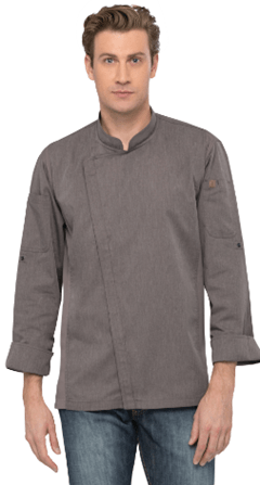 Chef Works Hartford Chef Coat-Graphite