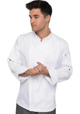Chef Works Manteau de chef Hartford - blanc