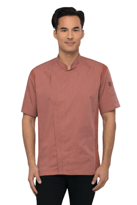 Chef Works Men's Springfield Chef Coat-Brick