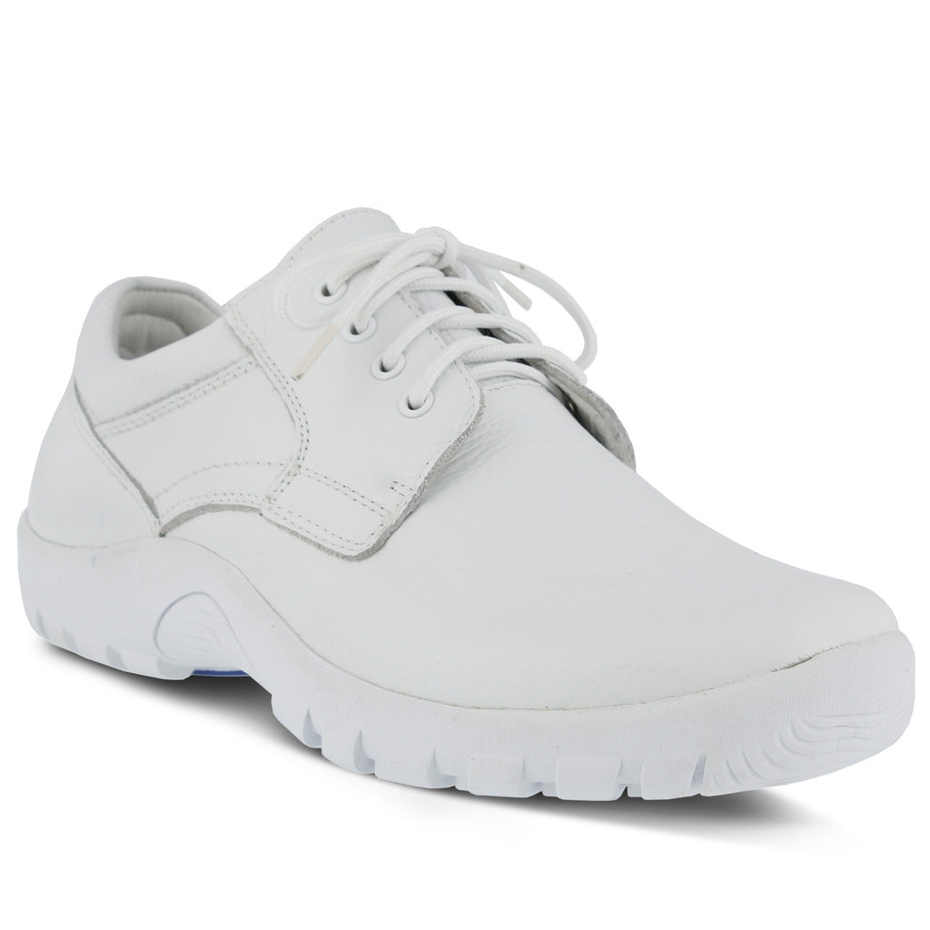Spring Footwear Berman Chef Clog White