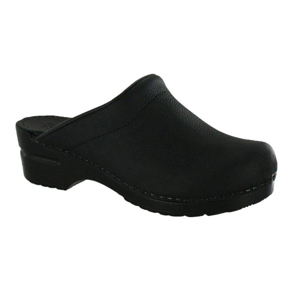 Sanita Women's Sonja Oil Medical Clog Black