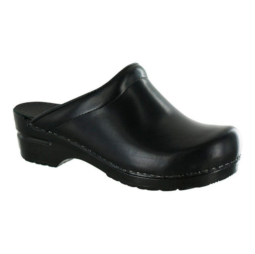 Sanita Women's Sonja Cabrio Medical Clog Black