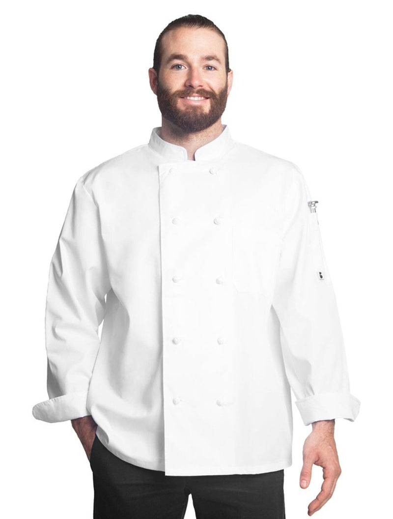 Bragard Thomas Chef Jacket White Front 1325-4847