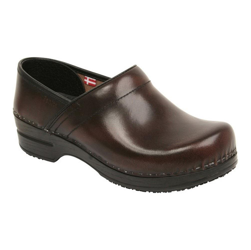 Sanita Men's Professional Cabrio Medical Clog brown - main