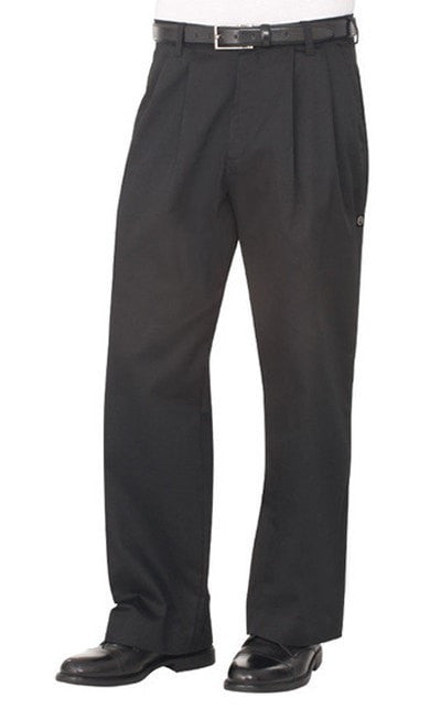 Chef Works Basic Culotte de Chef Black Front