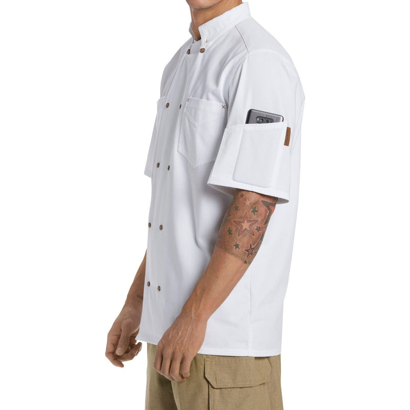 Chefwear Western Cook Shirt CW4310-Side