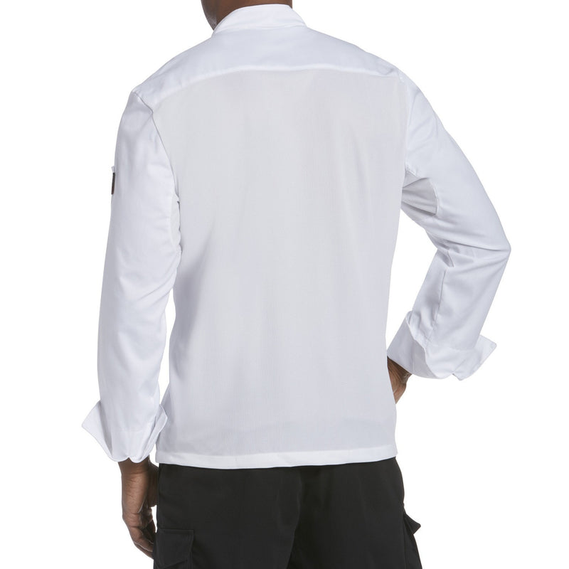 Chefwear Mesh Back Chef Jacket White CW5663-Back