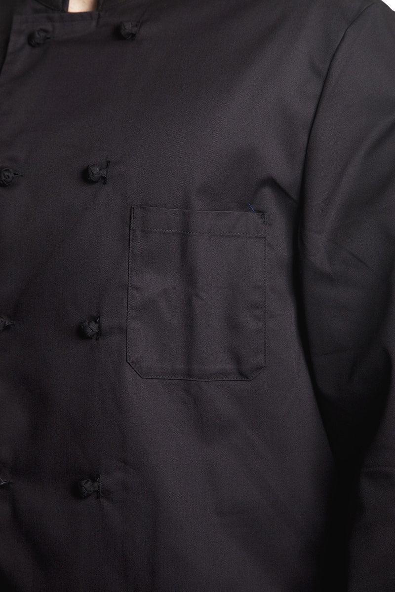Bragard Thomas Chef Jacket Black Chest Pocket