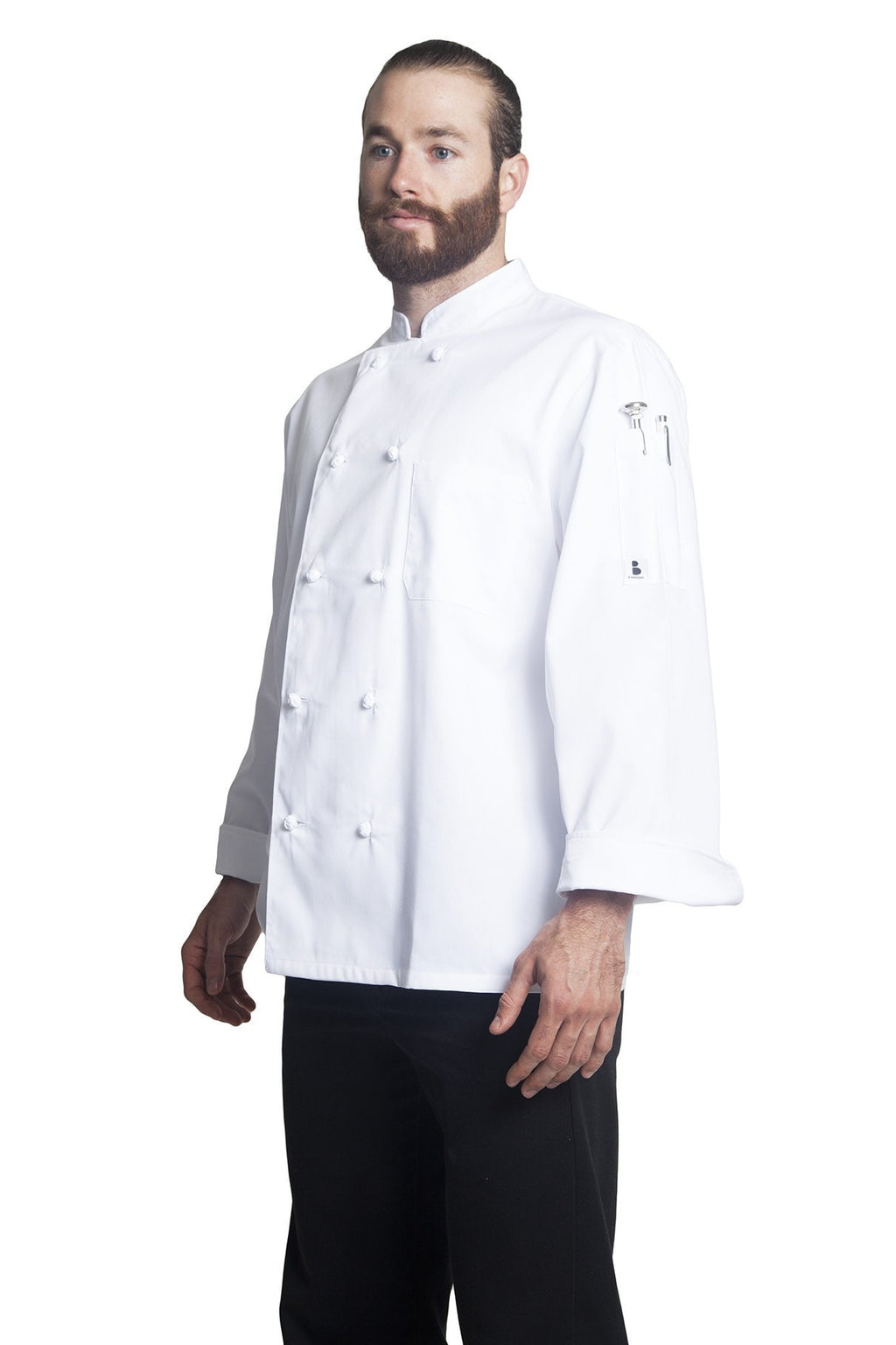 Bragard Thomas Chef Jacket White Side