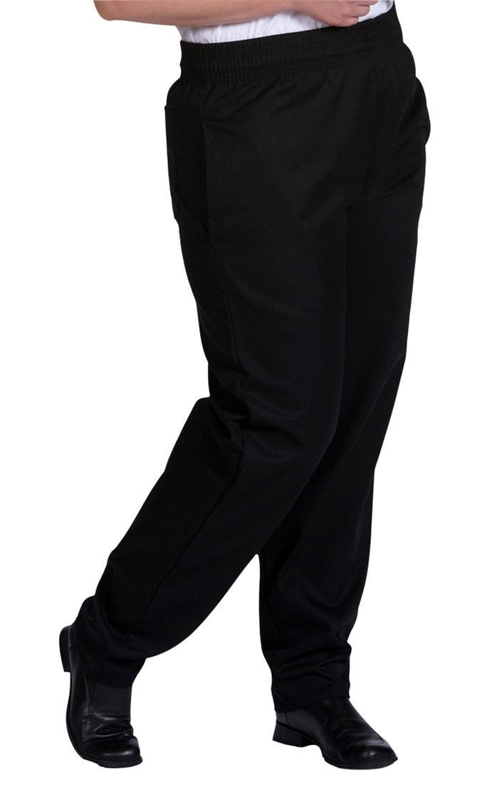 Basic Chef Pants by Edwards Black Profile