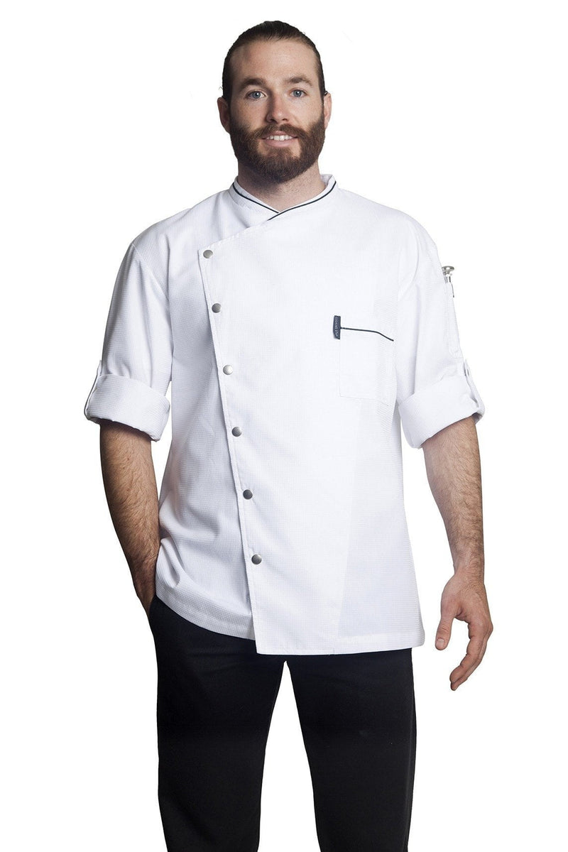 Bragard Chicago Chef Jacket Short Sleeve 2