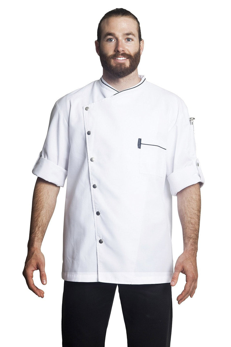Bragard Chicago Chef Jacket Short Sleeve