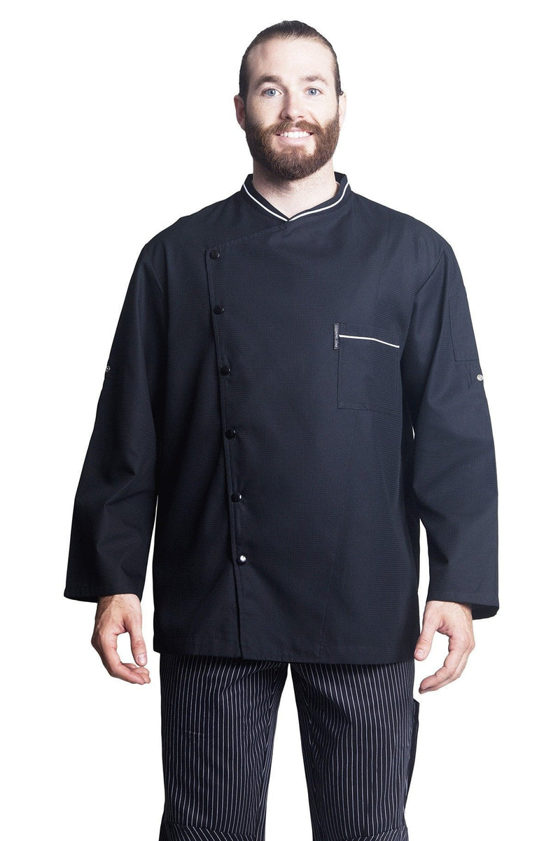 Bragard Chicago Chef Jacket w/Honeycomb Weave Front