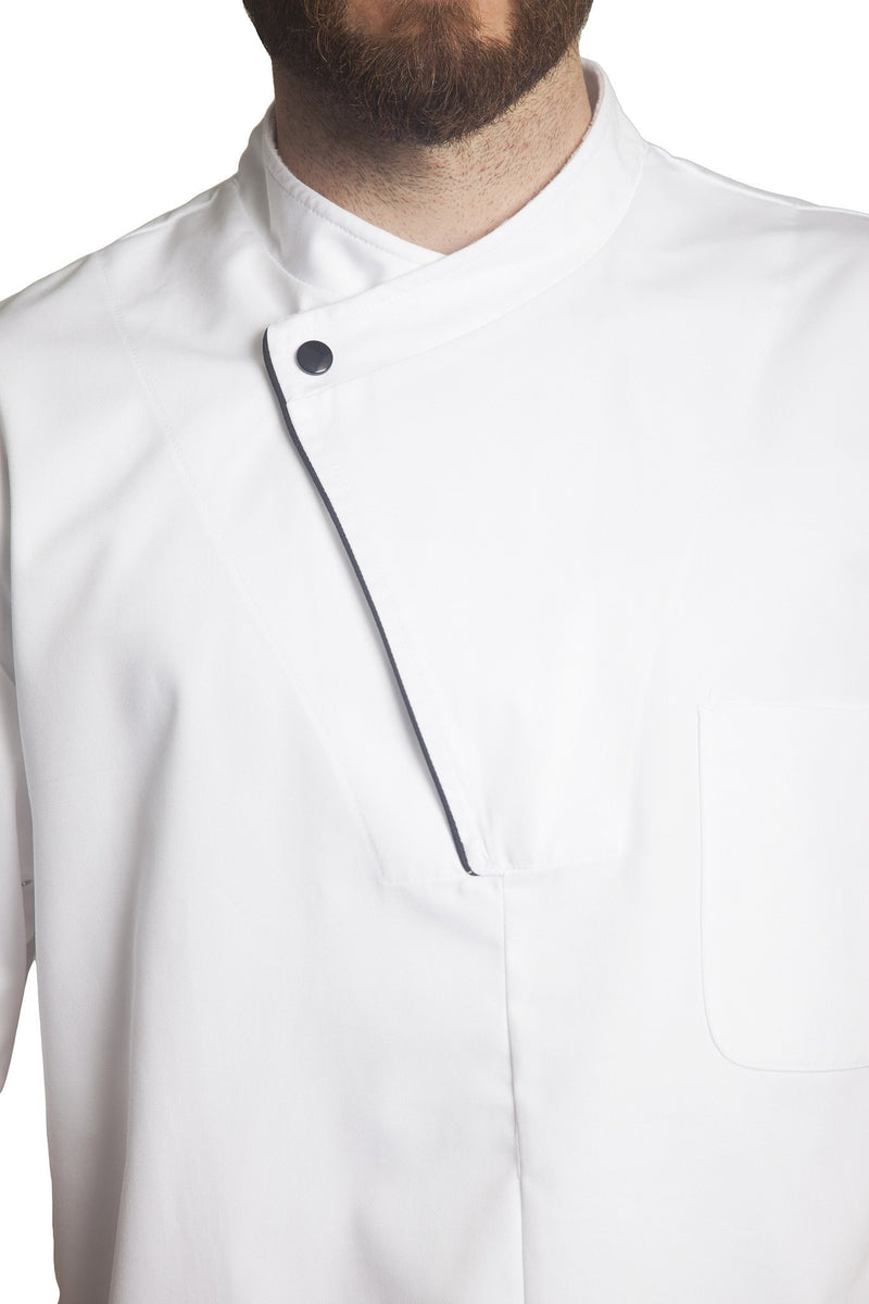 Bragard Dallas Chef Jacket Front Zipper