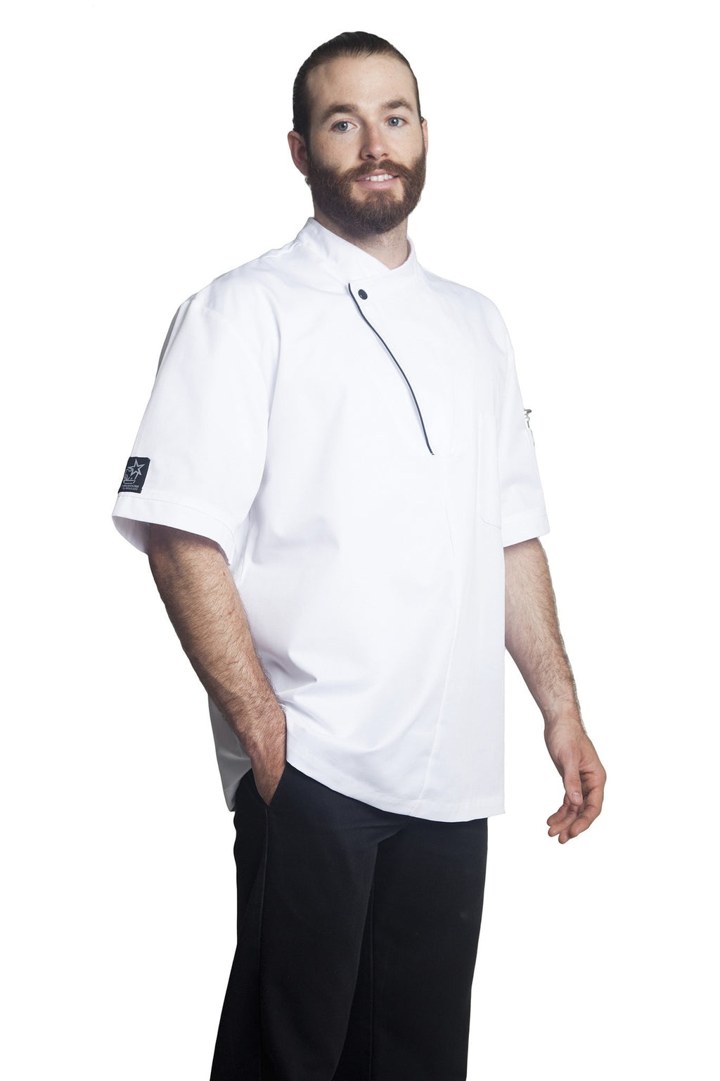 Bragard Dallas Chef Jacket Side