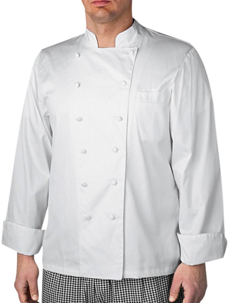 Executive LS Chef Jacket by Chefwear 4100 White Front