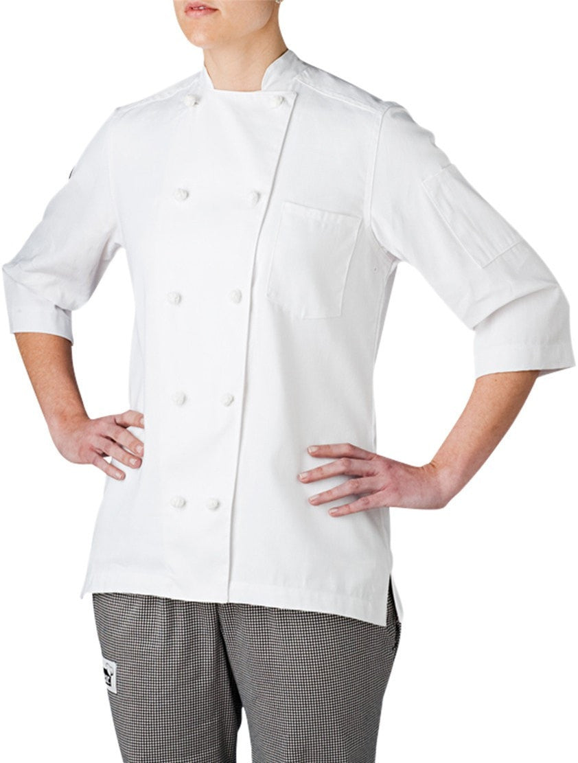 Five Star Light Weight Chef Coat by Chefwear 5025 White