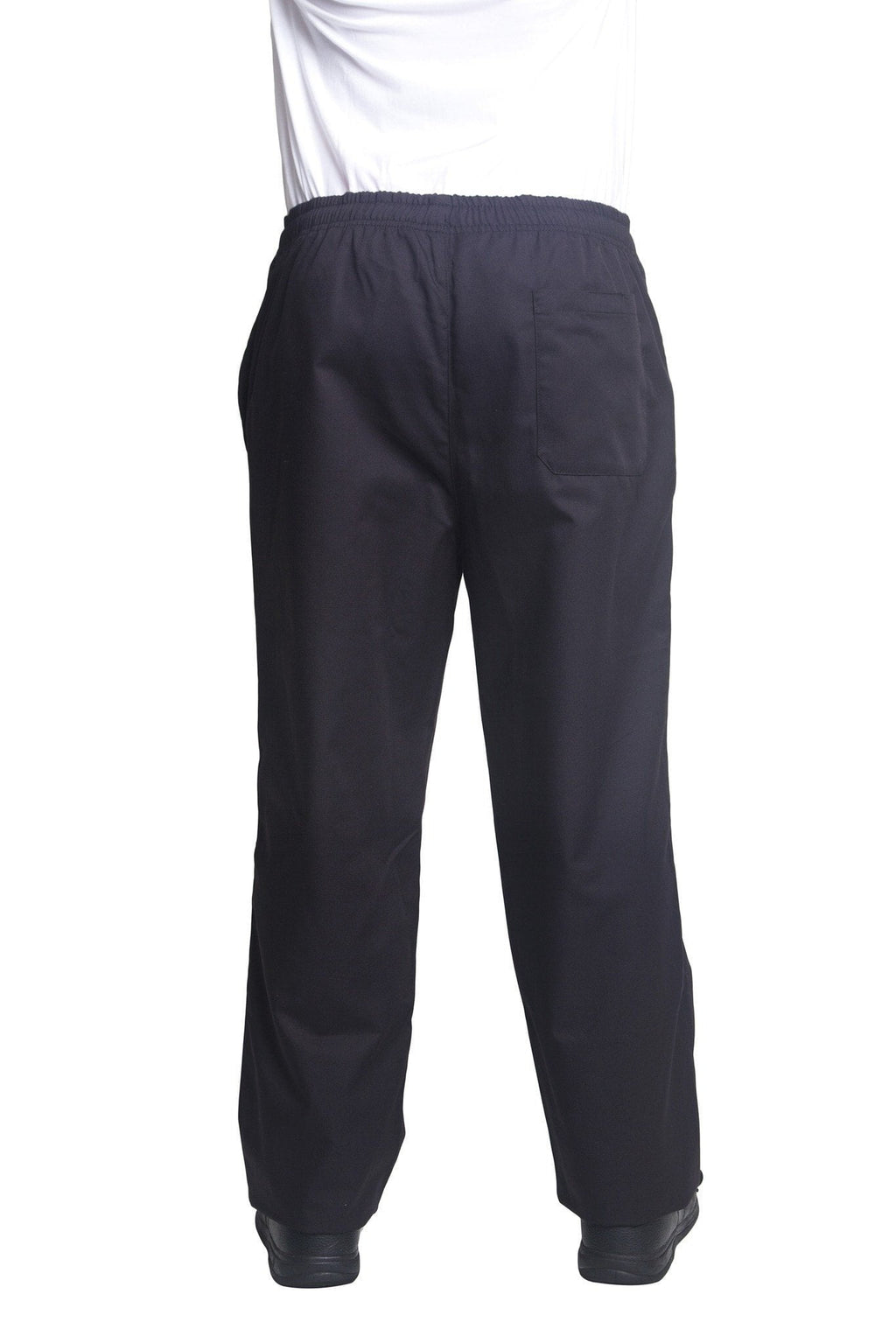Bragard Pantalon Nick Black Chef Pants Back