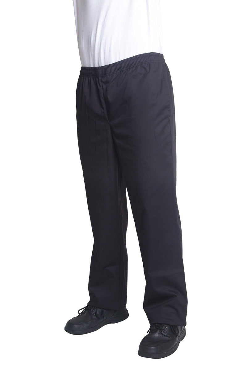 Bragard Nick Black Chef Pants Side2