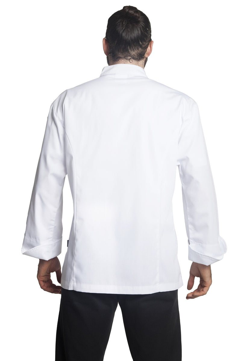Bragard Julius Long-Sleeve Chef Jacket Back