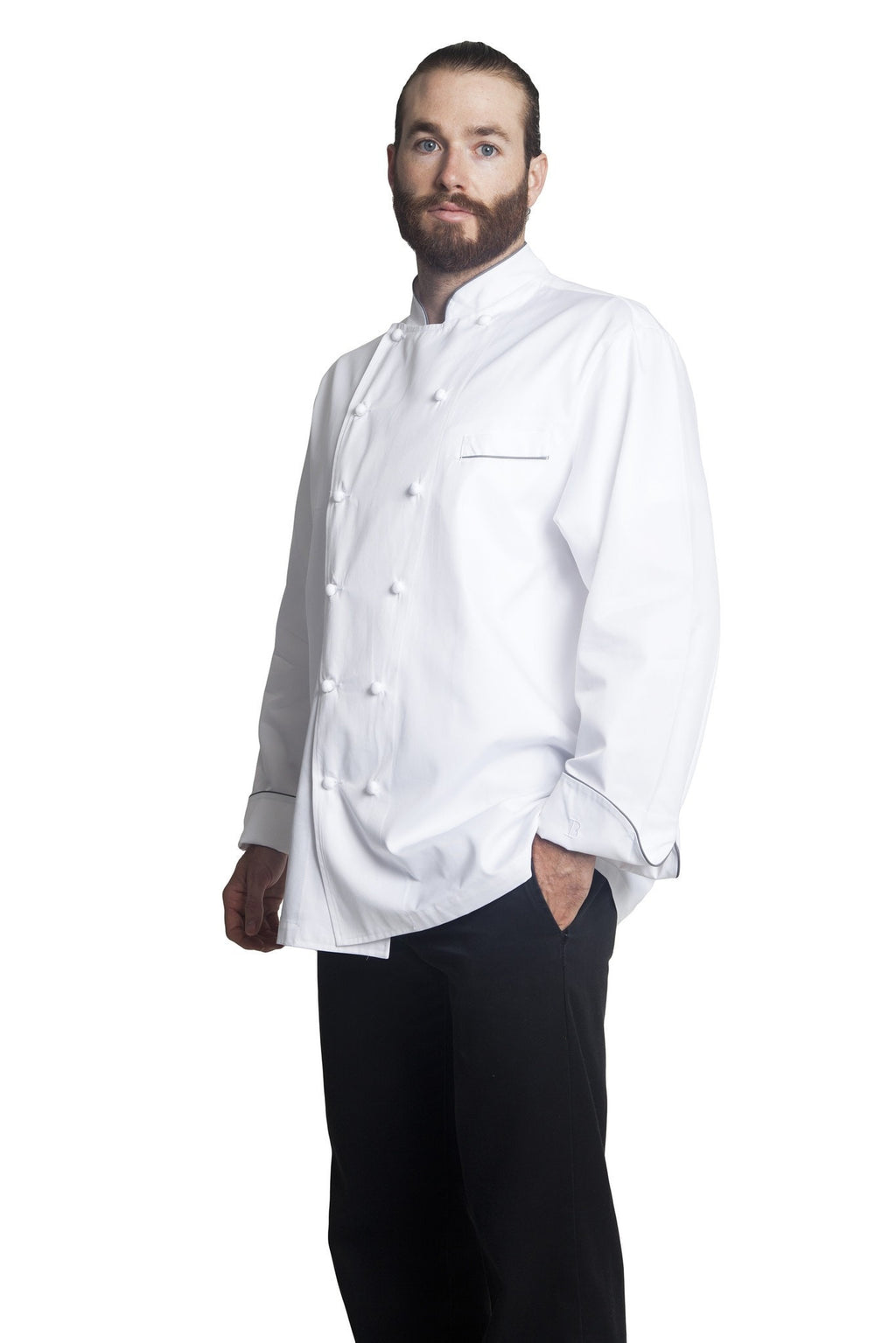 Bragard Perigord Chef Jacket Side