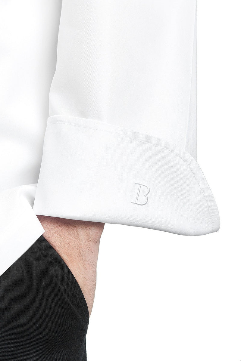 Grand Chef Jacket without Pocket by Bragard Embroidered Cuff