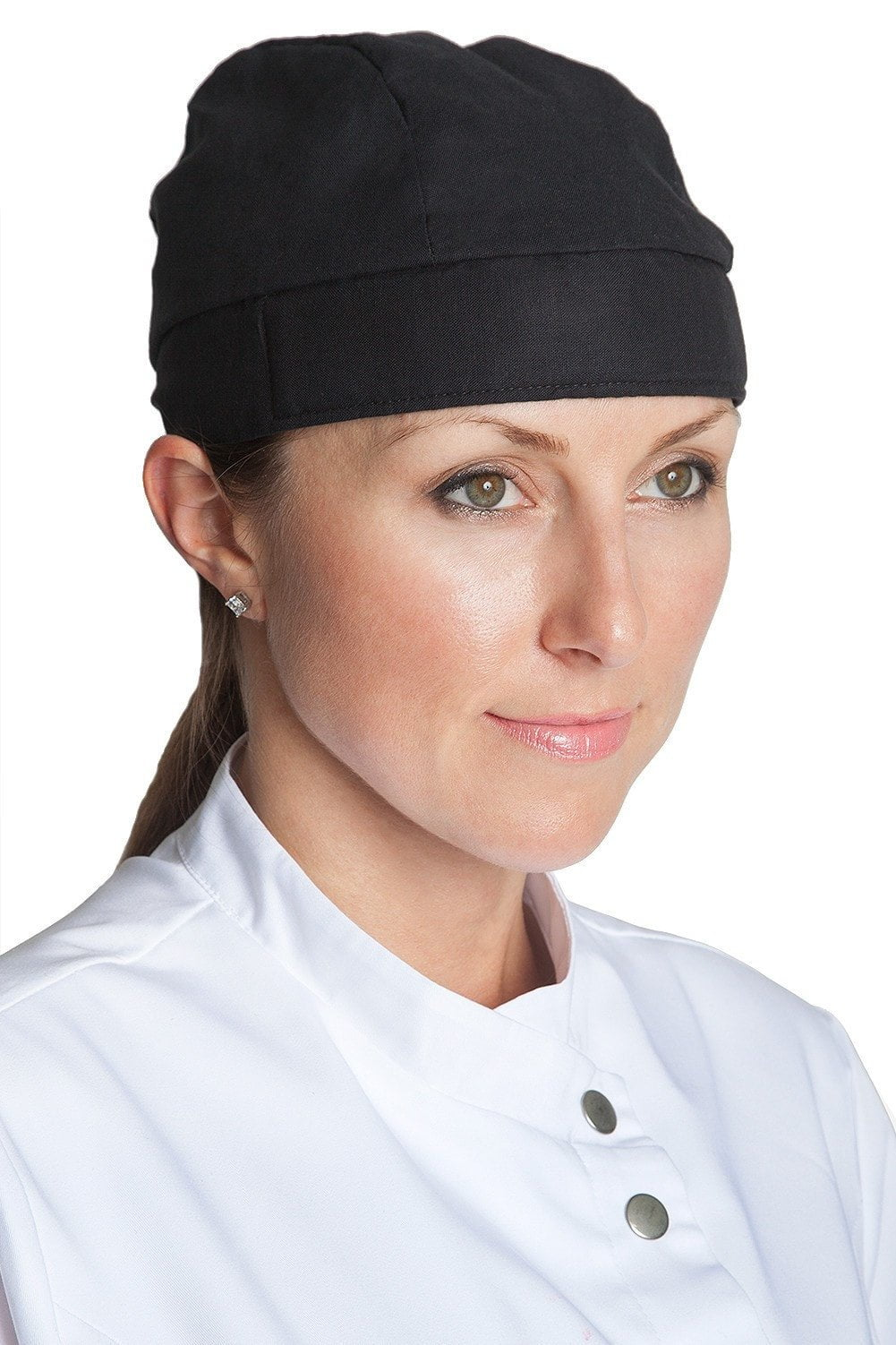 Deluxe Chef Head Wrap Black