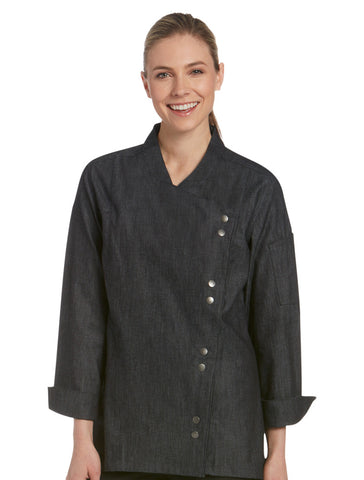 Chefwear Women's Lightweight Denim Chef Jacket