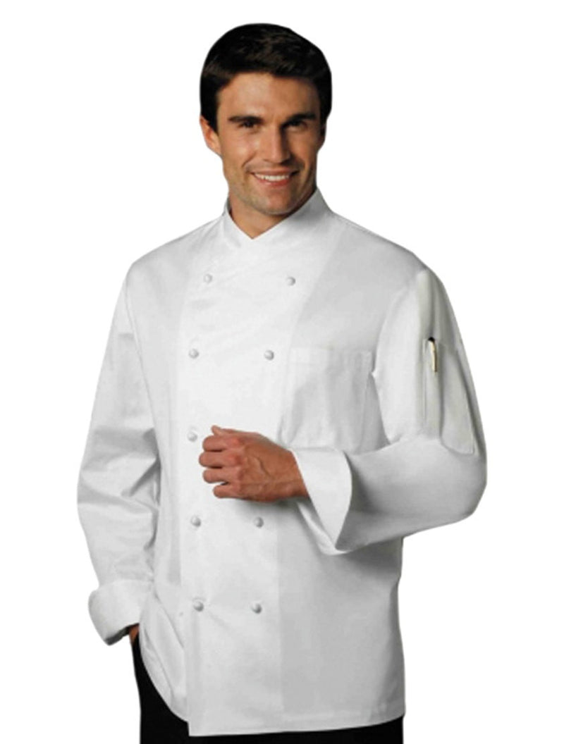 Jolio Chef Jacket par Bragard White Front Profile