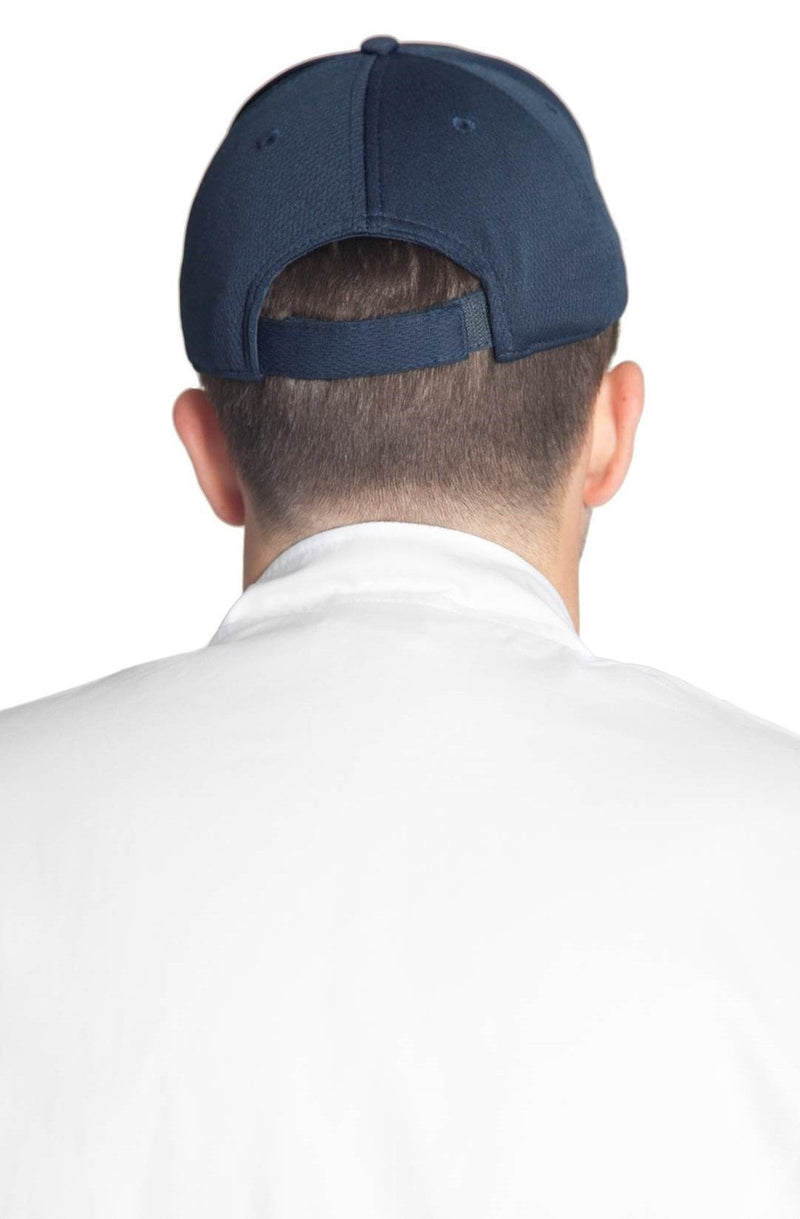 Fiumara Apparel Pro Mesh Baseball Cap Navy Back