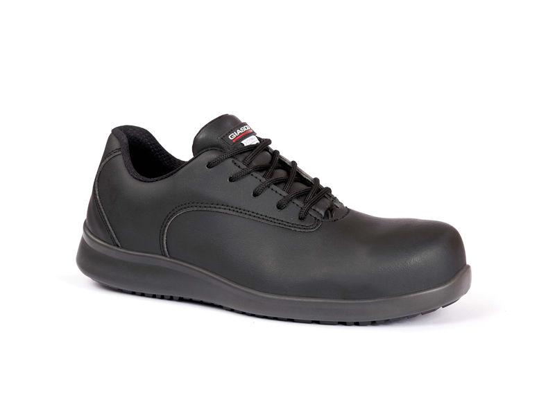 Giasco Snake O2 Closed Back Extra Comfort Chef Shoe - side view